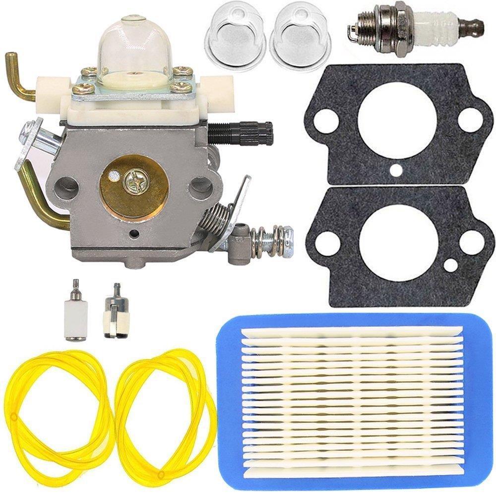 C1M K77 Carburetor with Primer Bulb Gasket for ECHO PB403H PB403T PB413H PB413T PB460LN PB461LN Leaf Blower (C1M K77)