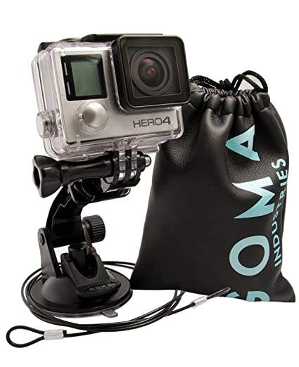 Amazon com : Suction Cup Gopro Car Mount for Hero7 Hero6