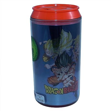 Official Dragon Ball Z Super Saiyan Goku Kamehaha Blue Colored Travel Canmugcup Gift 10 Oz