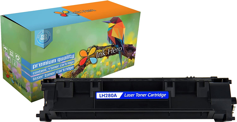 1PK CF280A 80A Toner Cartridge For HP LaserJet Pro 400 M401dn M401n MFP M425dn