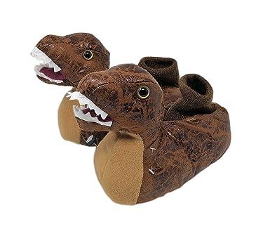 a8729689df97 Linzy Toys Children s Kids Boys T-Rex Dinosaur Slippers House Shoes