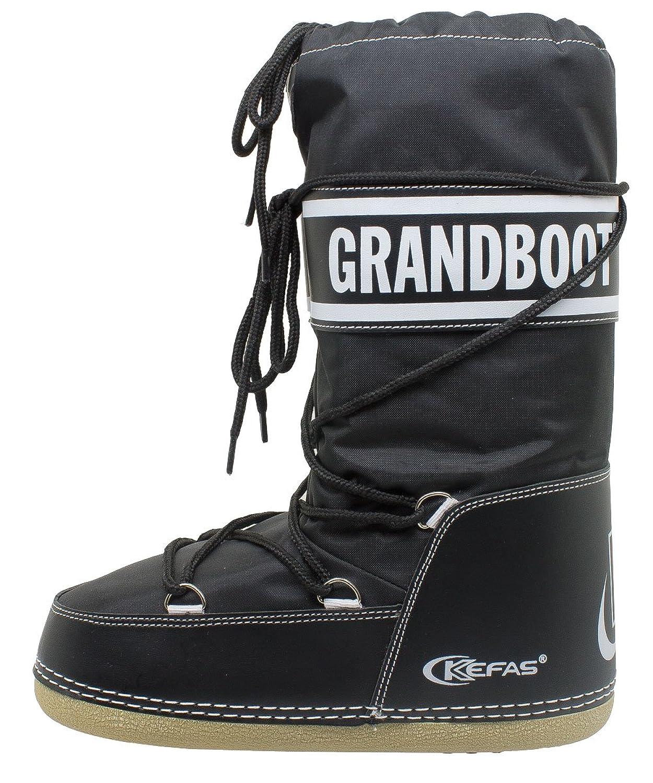 Kefas - Grandboot - Doposci Boot Uomo Donna Bambino - Nero - Taglia 26/28:  Amazon.it: Scarpe e borse