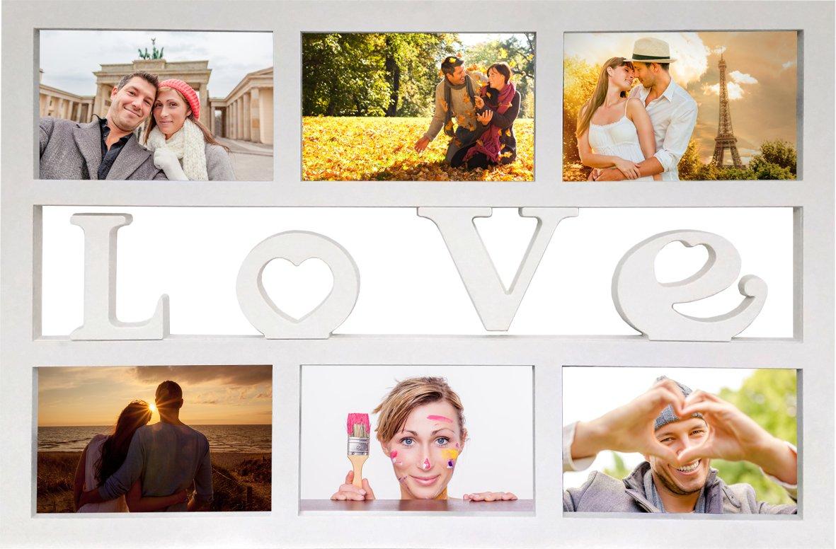 Empire Merchandising 671820 Collage - Marco de fotos múltiple con ...