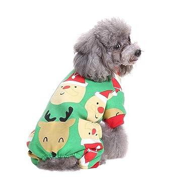 BWOGUE Small Dogs Christmas Clothes Santa Thermal Dog Pajamas Xmas Pet  Costumes Fleece Coat Jumpsuit Soft - Amazon.com : BWOGUE Small Dogs Christmas Clothes Santa Thermal Dog