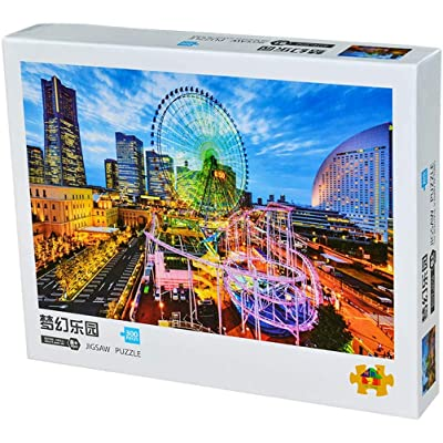 zuoshini Jigsaw Puzzle Fairytale Jigsaw Game 300Pcs Puzzle Intelligence Jigsaw Puzzle Decompression Toy: Toys & Games