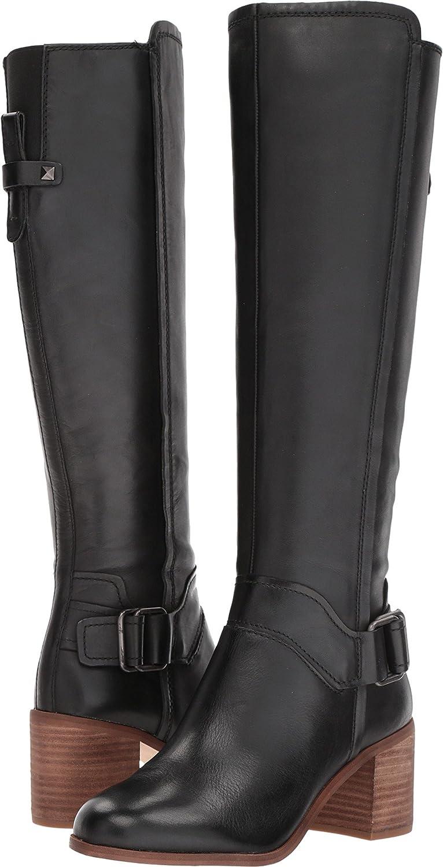 Franco Sarto Women's Mystic Knee High Boot B076DGSQPY 6.5 B(M) US|Black Leather