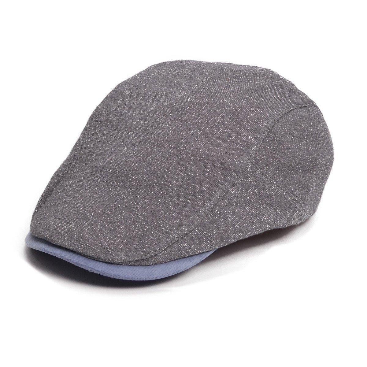 Lawliet Unisex Solid Color Cabbie newsboy Ascot IVY Gatsby Hat Cap T260