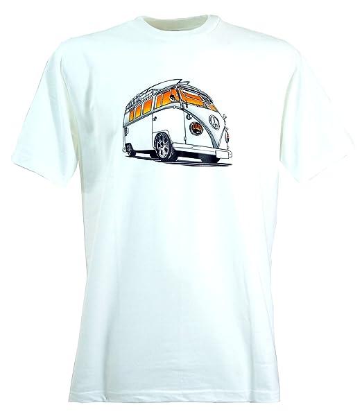 GURU-SHOP Camiseta de La Diversión `Bussi`, Algodón, Camisetas Impresas: Amazon.es: Ropa y accesorios