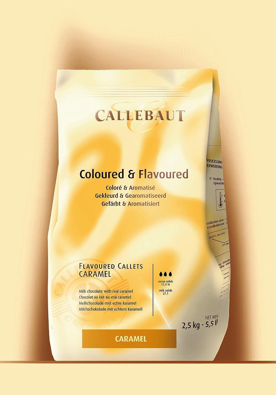 Callebaut strawberry chocolate chips 2.5kg: Amazon.co.uk: Grocery