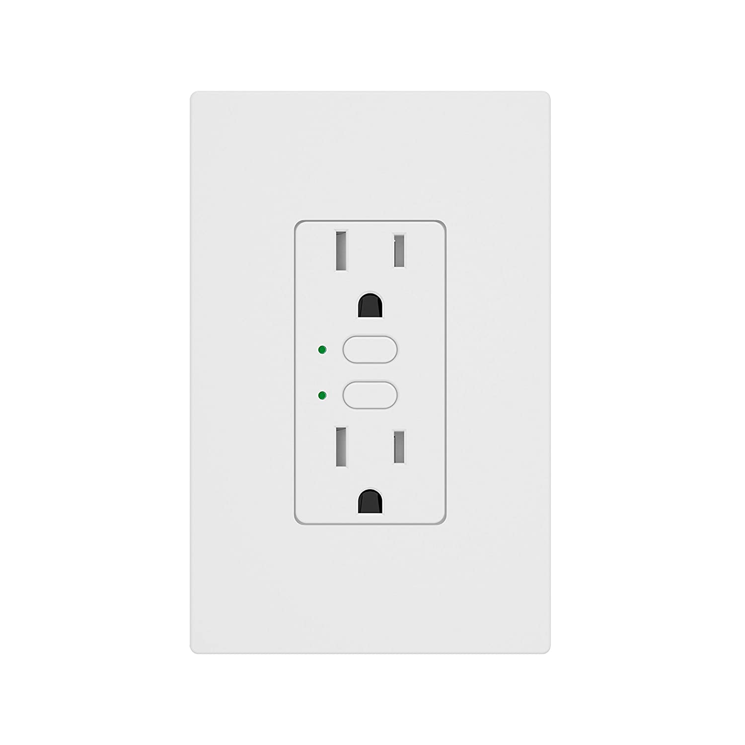 Insteon Smart Wall Outlet, Top & Bottom Outlets are Independently ...