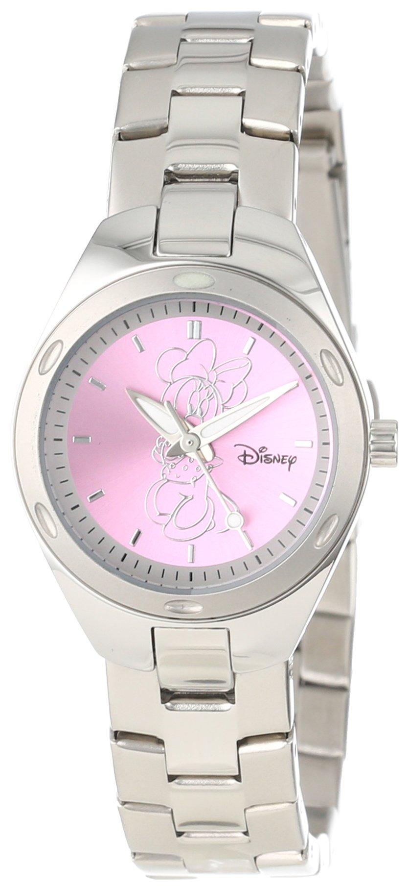 Disney Women's W000488 Minnie Mouse Stainless Steel Bracelet Watch