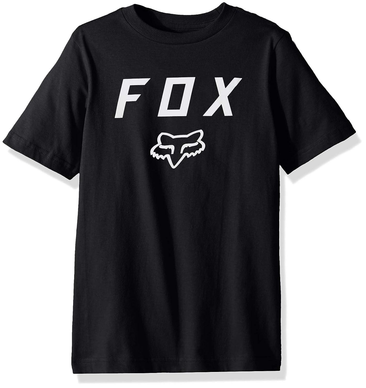 YS Fox Boys Big Youth Legacy Logo Short Sleeve T-Shirt Dusty Blue
