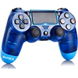 Game Controller for PS4,Wireless Controller for Playstation 4 with Dual Vibration Game Joystick (Blue)