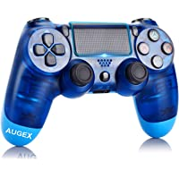 Game Controller for PS4,Wireless Controller with Dual Vibration Game Joystick (Blue) photo