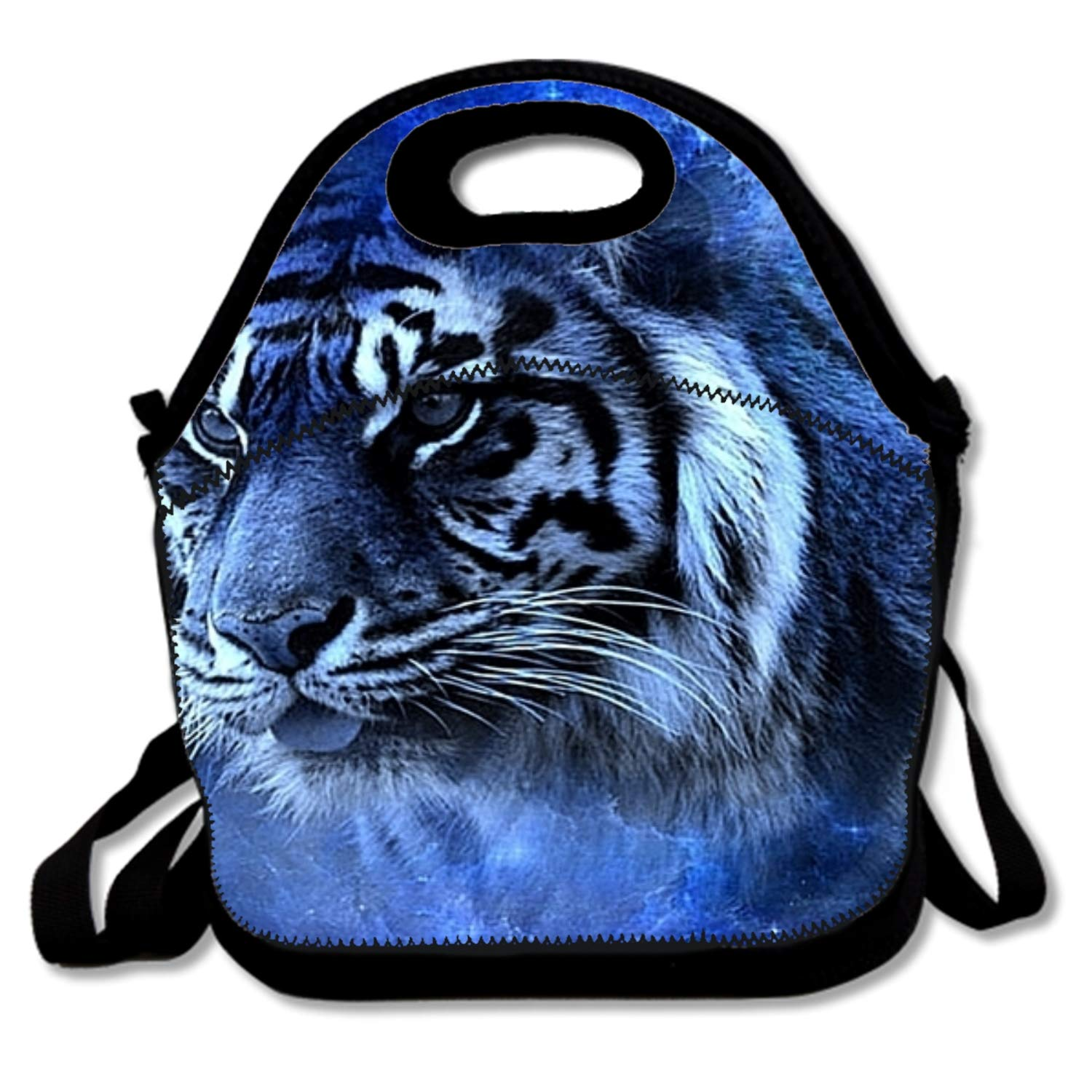 c90357d2c878 Amazon.com: Lunch Bag Insulated Lunch Bag 3d Tiger Lunch Box Lunch ...