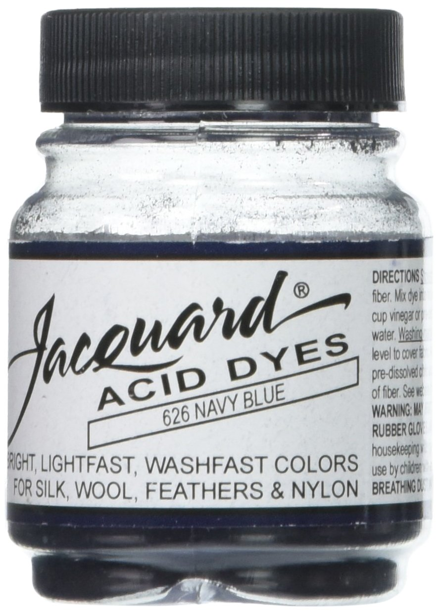 Jacquard Acid Dyes .5oz-Navy Blue Jacquard Products new