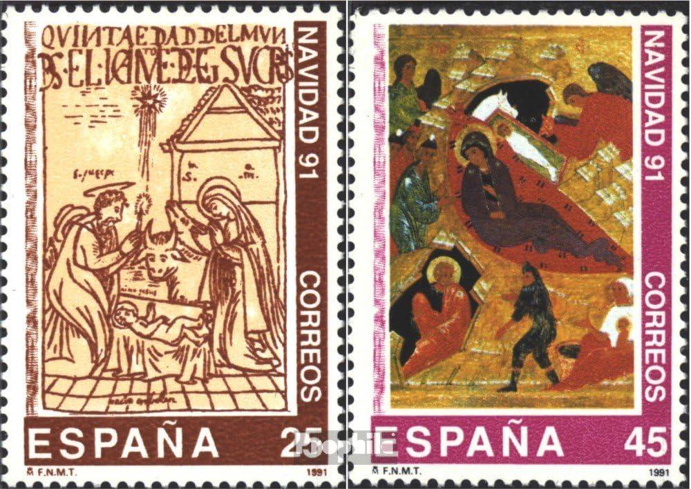 Prophila Collection España Michel.-No..: 3016-3017 (Completa.edición.) 1991 Navidad (Sellos para los coleccionistas) Navidad: Amazon.es: Juguetes y juegos