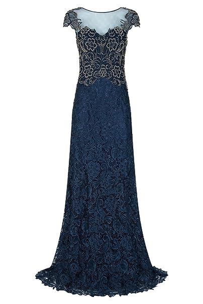 Dynasty Mujer Swift azul marino/dorado para vestidos largos no chal estilo 1012735: Amazon.es: Ropa y accesorios