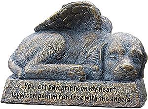 Roman Garden - Dog with Wings Garden Statue, 6H, Garden Collection, Resin and Stone, Decorative, Memorial Gift, Garden Gift, Home Outdoor Decor, Durable, Long Lasting