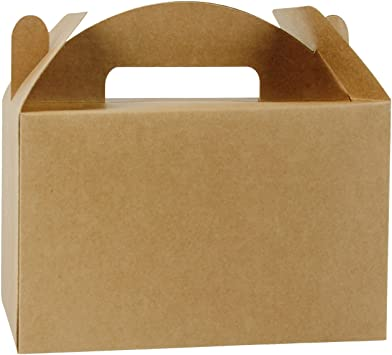 Amazon.com: LaRibbons - Caja de regalo de papel kraft ...