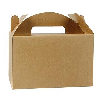 Amazon.com: LaRibbons - Caja de regalo de papel kraft ...