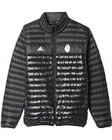 adidas Men's Juventus Light Down Soccer Jacket (Black)