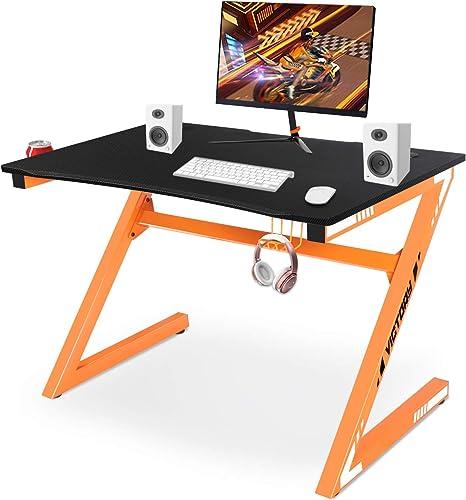 Reviewed: YIJIN Computer Desk Gaming Table Z Shaped Gamer Workstaton