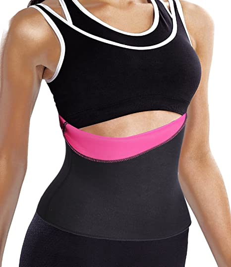 55c7c7922 Sport Hot Thermo Sweat Neoprene Shapers Slimming Belt Waist Cincher Girdle  for Weight Loss (S