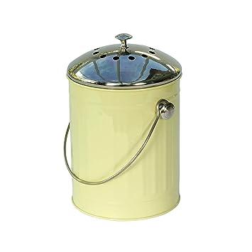 Eddingtons - Cubo de compost (4,4 l con filtro de carbón