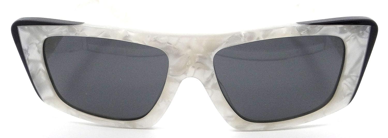 Alain Mikli Sunglasses A05029 007//87 54-16-140 Jeremy Scott White Marbled//Grey
