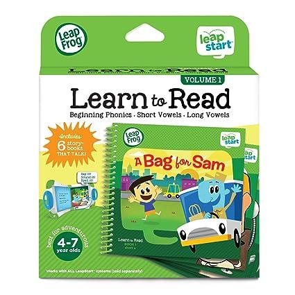 fa4edbacb0ac1 Amazon.com  LeapFrog LeapStart Learn To Read Volume 1  Toys   Games