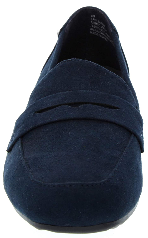 London Fog Womens Barbee Classic Slip On Slide Loafer Fashion Shoe