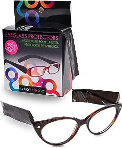 Framar Eyeglass Sleeves - Covers for Eye Glasses against Hair Color, Hair Dye - 200 ct