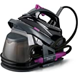 Ariete By Delonghi of Italy Duetto 6437 (Gray-Purple) 2-in-1 Home Steam Ironing System with Detachable Iron