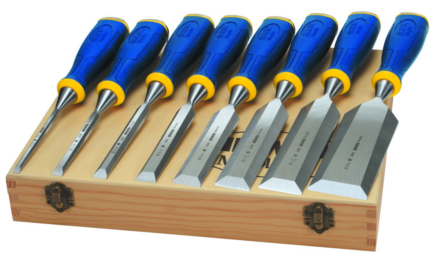 ProTouch Bevel Edge Chisel Set of 6 Plus 2 Chisels FREE by Marples Irwin