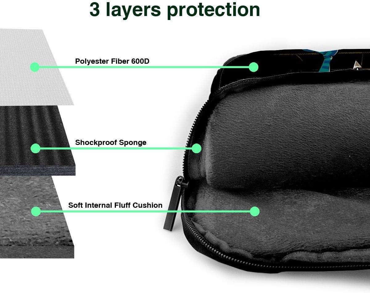 GenerticOne of Us Always Lies Goblin 80s FantasyDurable Portable Oxford Shoulder Shockproof Laptop Bag Shoulder Messenger Handbag Case Sleeve Labyrinth Door