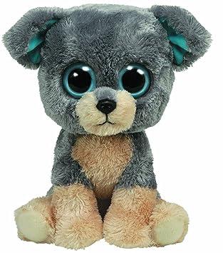 Ty 7136910 Beanie Boos - Perrito de peluche Scraps tamaño grande, 21,5 cm