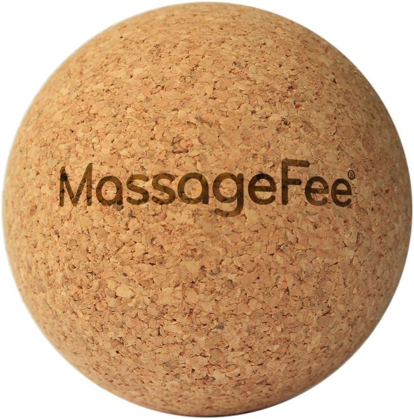 TriggerFairy® Pelota de masaje de corcho – Bola de auto masaje ...