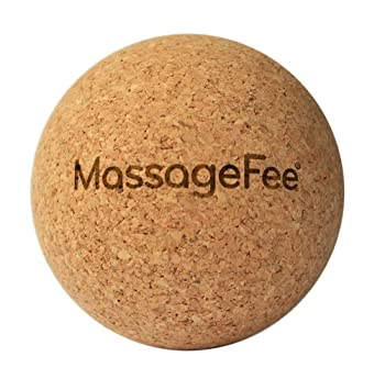 TriggerFairy® Pelota de masaje de corcho - Bola de auto masaje ...