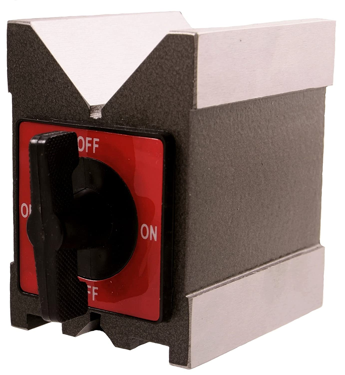 3402-0992 HHIP 3.75 X 2.75 X 5 INCH MAGNETIC V-BLOCK WITH SWITCH