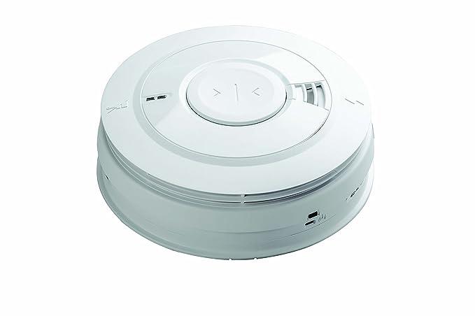 Aico 161e Serie - Alarma de humo de ionización con batería de litio recargable: Amazon.es: Bricolaje y herramientas