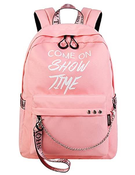 Amazon Com El Fmly College School Bag Cute Backpack For Girls Teen