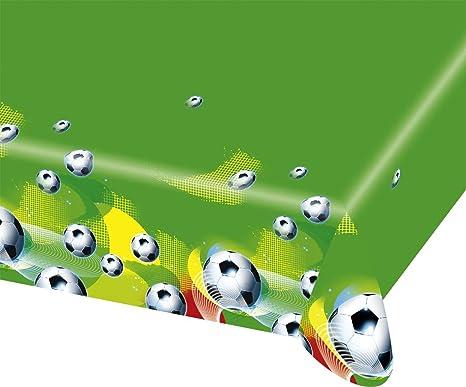 Caseta de – Mantel Fútbol Party – 120 x 180 cm Brasil