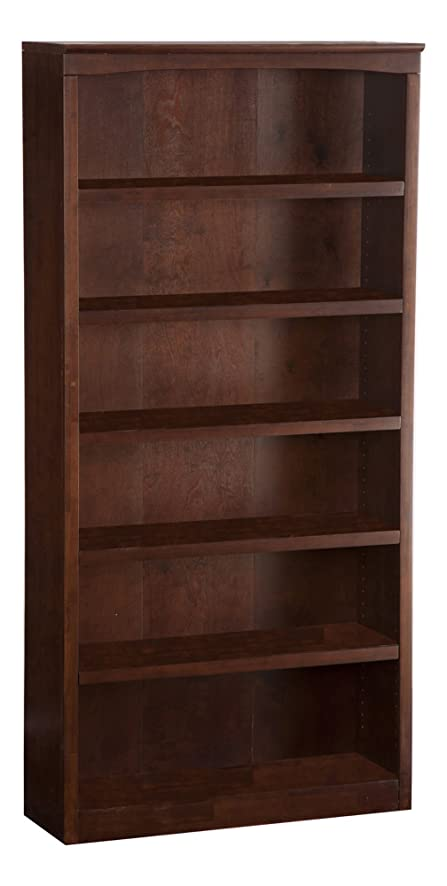 Harvard Book Shelf, 72-Inch, Antique Walnut - Amazon.com: Harvard Book Shelf, 72-Inch, Antique Walnut: Kitchen
