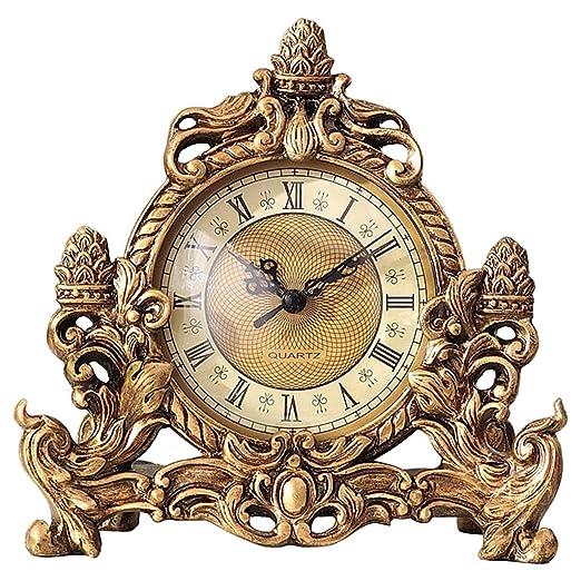 NNIU Reloj de Mesa de Resina Reloj de Mesa, Reloj de Mesa ...