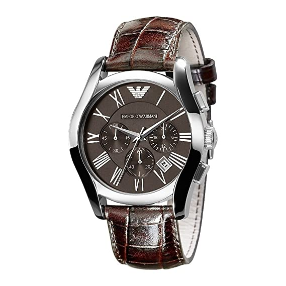 Emporio Armani Reloj Multiesfera para Hombre de Cuarzo con Correa en Ninguno AR0671: Emporio Armani: Amazon.es: Relojes