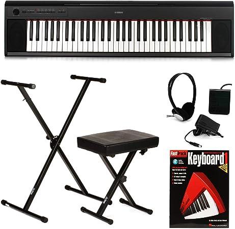Yamaha Piaggero NP-12 paquete de teclado esencial
