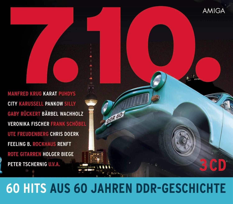 7.10. - 60 Hits aus 60 Jahren DDR Geschichte - Various: Amazon.de: Musik