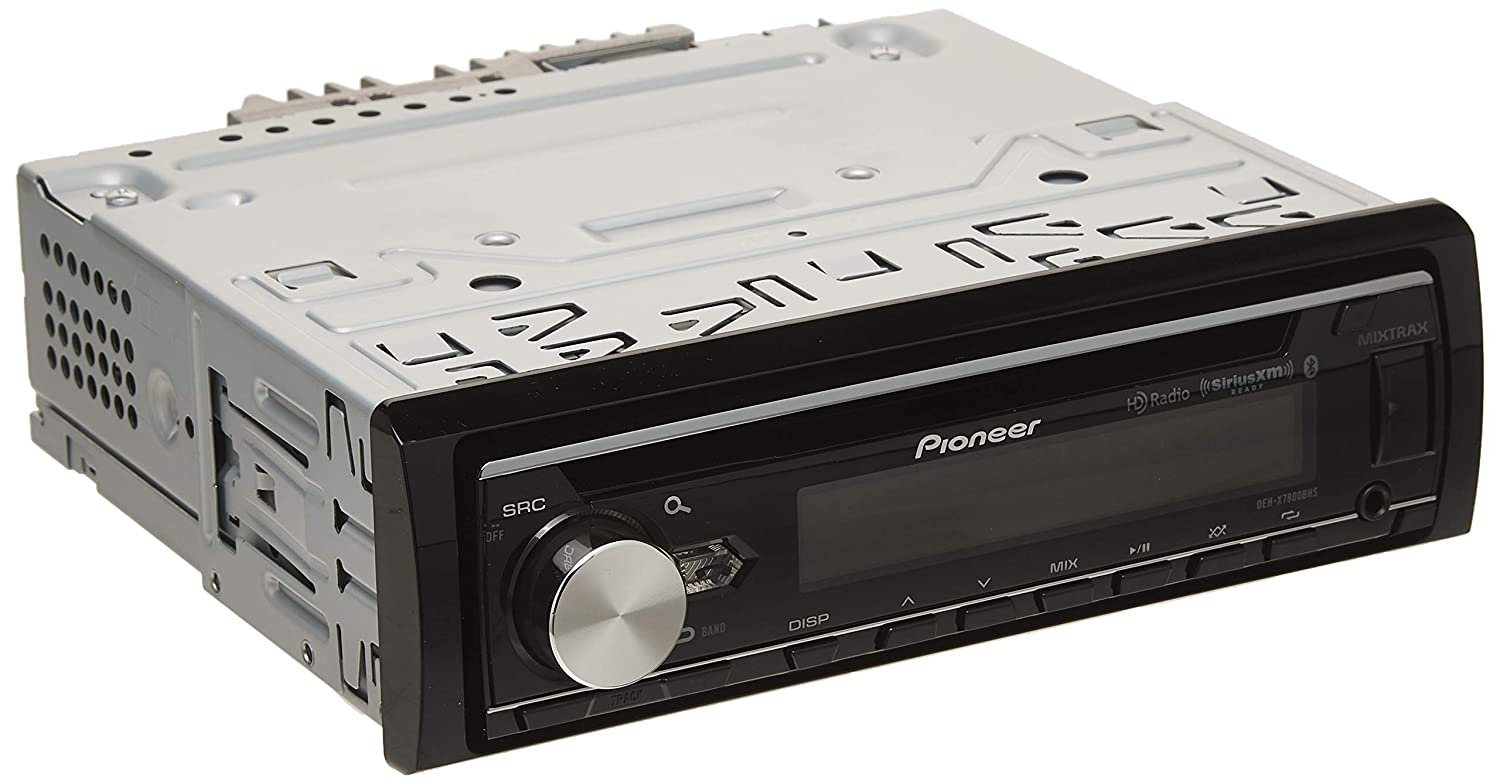 Pioneer DEH-X7800BHS CD Receiver with Enhanced Audio Functions Pioneer Electronics USA Inc