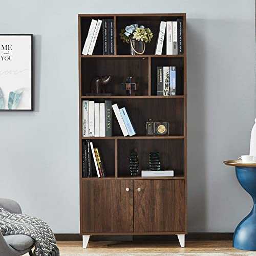 Mixcept Bookcase Modern Bookcase  Review